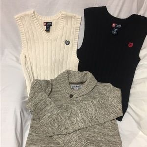Boys vests and sweater